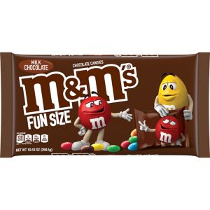 Milk Chocolate M&M's Fun Size Packs 21ct