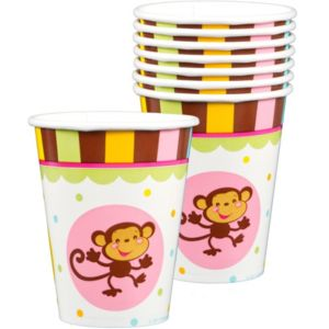 fisher price abc baby shower cups 8ct party city