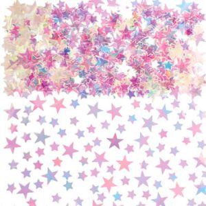 Iridescent Star Confetti 5oz