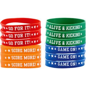 Soccer Wristbands 12ct