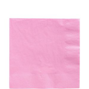 Pink Lunch Napkins 125ct