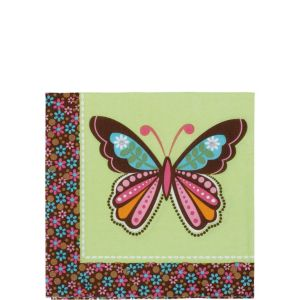 Hippie Chick Beverage Napkins 16ct