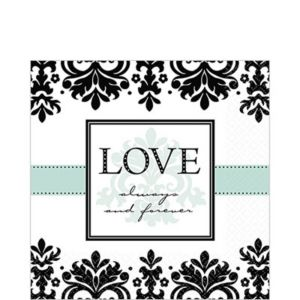 Always & Forever Lunch Napkins 16ct