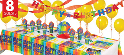 A Year To Celebrate Happy Birthday Super Party Kit