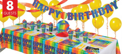 A Year To Celebrate 40th Birthday Super Party Kit