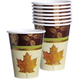 Fall Elegance Cups 8ct
