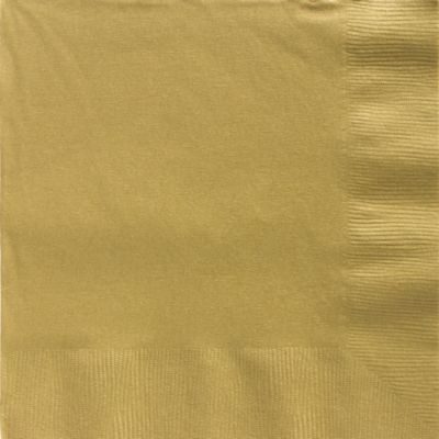 Gold Dinner Napkins 50ct