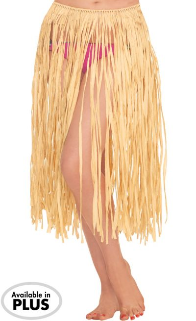 Adult XL Natural Grass Hula Skirt