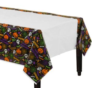 Spooktacular Plastic Table Covers 3ct