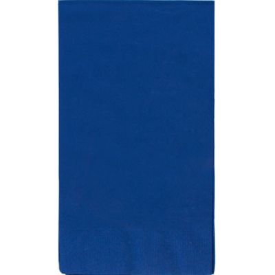 Royal Blue Guest Towels 40ct