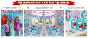Little Mermaid Ultimate Party Kit for 16 Guests