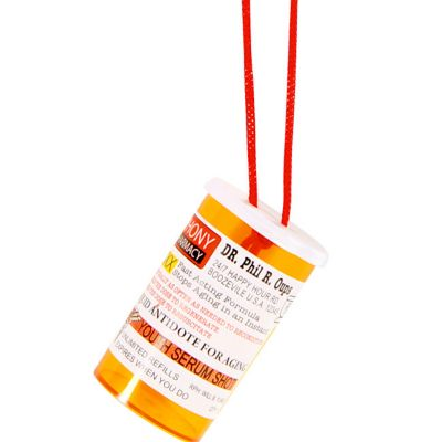 Pill Bottle Shot Necklace