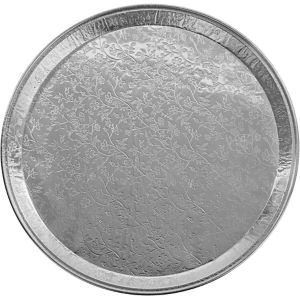 Embossed Aluminum Platter