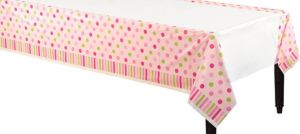 Little Princess Baby Shower Plastic Table Cover