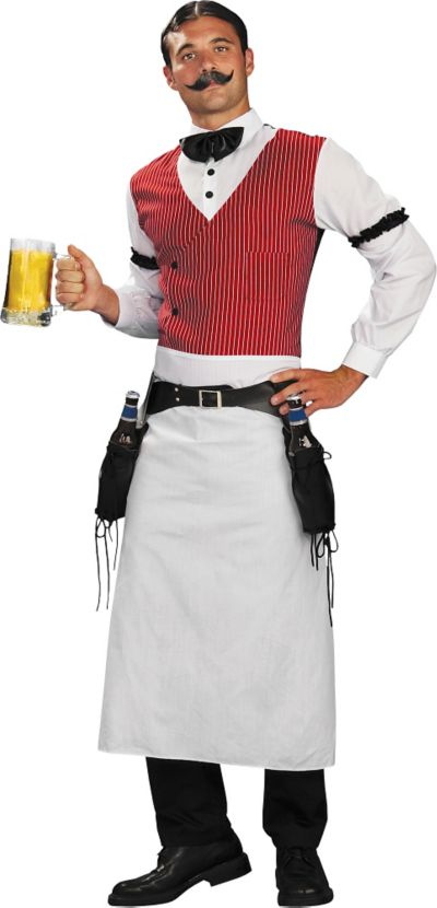 Adult Old West Bartender Costume