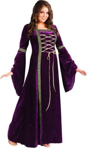 Adult Renaissance Faire Lady Costume Plus Size