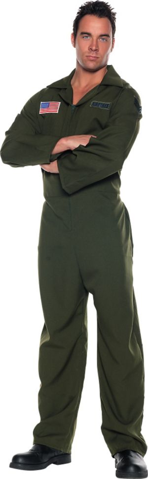 Adult Air Force Jumpsuit Costume