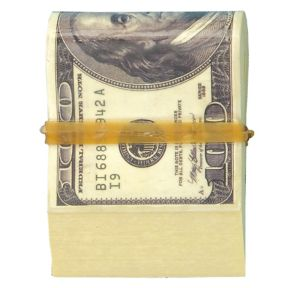 Wad of Cash Novelty