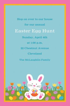 Custom Easter Friends Invitations
