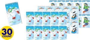 Winter Fun Notepads 30ct