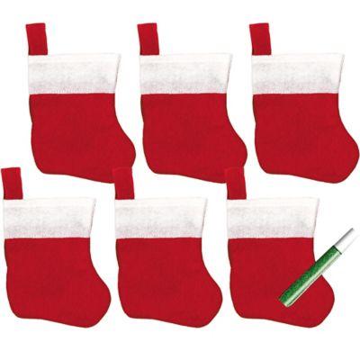 Christmas Stockings Decorating Kit 7pc