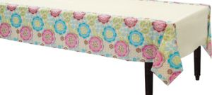 Fashion Floral Table Cover