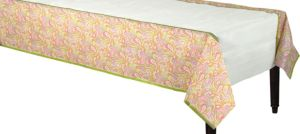 Pretty Paisley Table Cover