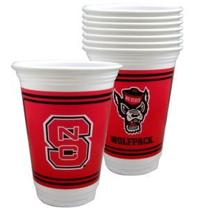 North Carolina State Wolfpack Party Cups 8ct