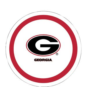 Georgia Bulldogs Dessert Plates 12ct