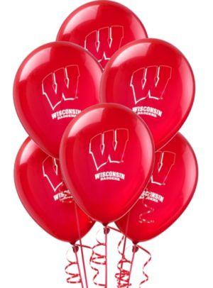 Wisconsin Badgers Balloons 10ct
