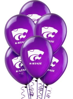 Kansas State Wildcats Balloons 10ct