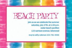 Custom Summer Lovin' Invitations
