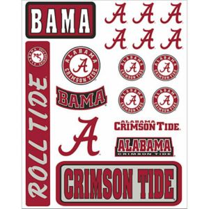 Alabama Crimson Tide Decals 18ct