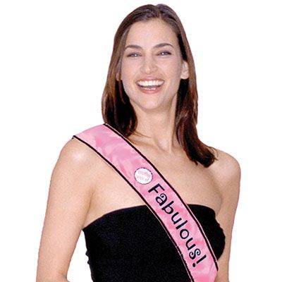 Another Year of Fabulous Birthday Sash