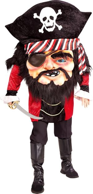 Adult Parade Matey Mascot Pirate Costume