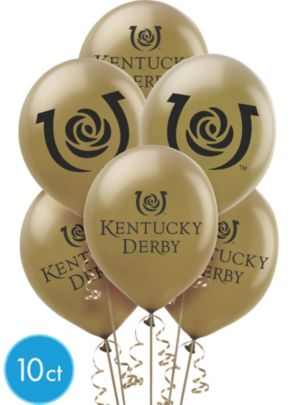 Kentucky Derby Balloons 10ct