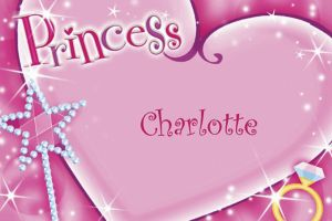 Custom Princess Thank You Notes