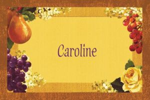 Custom Golden Orchard Thank You Notes