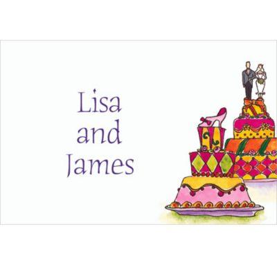 Custom Wacky Wedding Cakes Wedding Thank You Notes