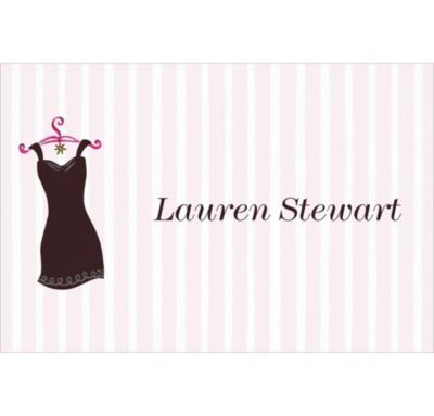 Custom Little Black Dress Thank You Notes