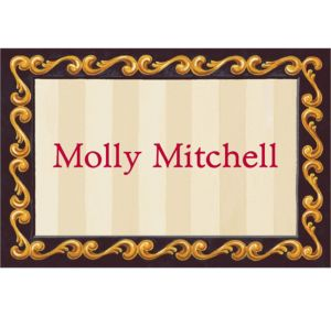 Custom Red Grad Portrait Thank You Notes