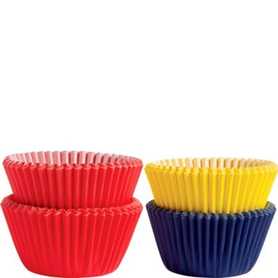 Primary Mini Baking Cups 100ct