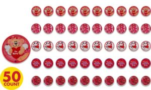 Valentine's Day Ball Puzzles 50ct