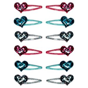 Rocker Girl Barrettes 12ct