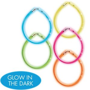 Neon Doodle Glow Sticks 5ct