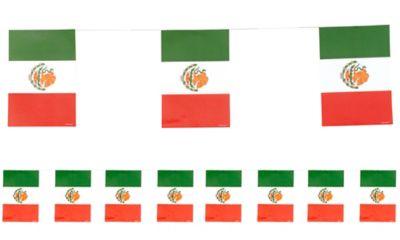 Mexican Flag Fiesta Banner