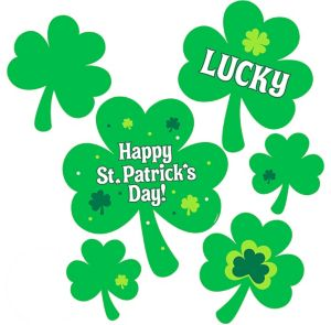 Shamrock Cutouts 30ct
