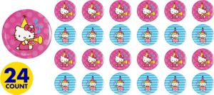 Hello Kitty Buttons 24ct