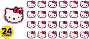 Hello Kitty Erasers 24ct
