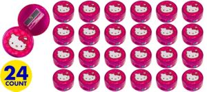 Hello Kitty Pencil Sharpeners 24ct